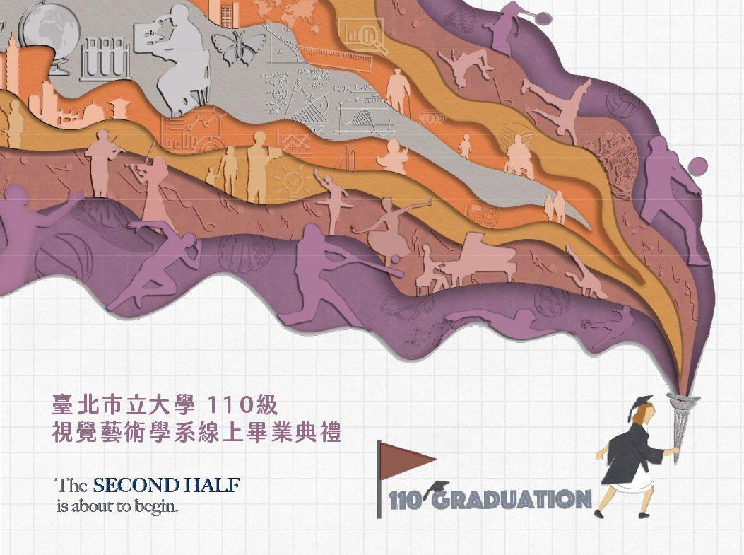 [公吿]臺北市立大學110級視覺藝術學系線上畢業典禮